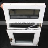 Children Safty Upvc Hot Design Tilt and Turn Window White or Color Coating Wood Effect Film PVC High Quality Windows