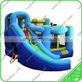 Competitive price and hot sale customized inflatable bouncy jumping house,combo bouncy slide, bounce castle combo