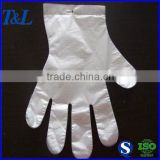 Factory T&L brand wholesale low price but good PE disposable gloves made from food grade material