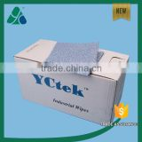 100% Polypropylene Oil Absorbent Wipes Flat Sheet