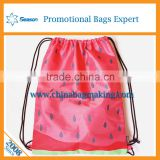 Hot sale Handbag manufacturer Yiwu Gym bag drawstring sports bag backpack