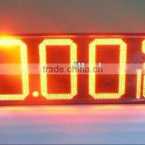 "12"" inch 8.889 10 4 digits LED Gas Display, LED GAS DISPLAY outdoor"