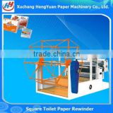 Full Automatic Paper Production Machinery , Bulk Pack Facial Tissue Machine