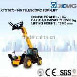 Telescopic forklift XT680-170(Rated Load: 4.5T, Lift height:16.7m) of telescope boom forklift