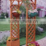 LEAFFY-Chinese Fir Wood Arch with Planter