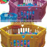 children adjustable plastic ball pool with basket ring CIT-C2648