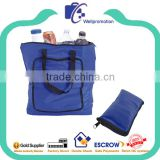 Food use portable folding insulated food carrier bag