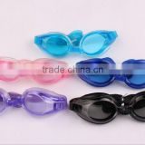 2015 men and women training game goggles wholesale HD PVC independent bag anti fog swimming glasses