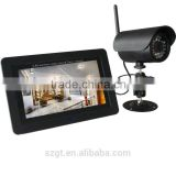 2.4G wireless digital camera and 7 inch LCD Screen digital DVR kits with Motion Detect 32G SD card U-disc function