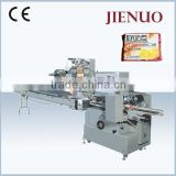 Automatic Biscuit Chocolate Bread Food Pillow Packing Machine Horizontal Flow Packing Machine
