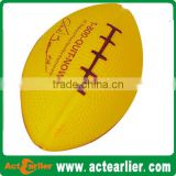 pu foam anti stress football ball toy for promotional