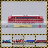 Model railway subway bus trains figure realistic scale replica figure collection OEM toy manufacturer