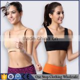Special offer wholesale manufacturers selling NY081 double inserted yoga sports bra pad running sleep sports bra