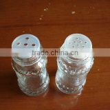 spice clear glass jars