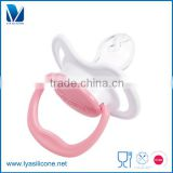 FDA Approved Nipple Molding Silicone Baby Pacifier With Cover