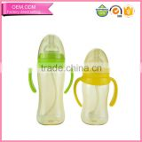 2016 latest items nontoxic ppsu bottle for baby feeding products easy to grip