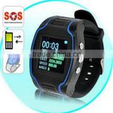 SOS security surveillance google map wrist watch personal gps trackers,Personal watch gps tracker