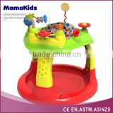 multi-color fashionable baby walker European standard baby jumper bouncer with music and light