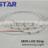 5M/Roll 6mm LED Strip Light 2835 72leds/m 12V LED Tape for Advertising Letters Illuminated Sign Signage Banner display S-Shape