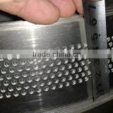5.0cm width stainless steel hole punched coil for channel letter