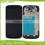 Factory price original lcd for lg nexus 4 e960 lcd screen replacement digitizer with frame