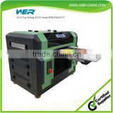 Reasonable price a3 size WER E2000UV small uv led flatbed printer for color label printing machine