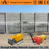 new technology precast concrete fence mold/precast concrete fence machinery