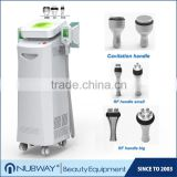 5 cryo handles 10.4 inch touch screen lipo laser cool body sculpting semiconductor cavitation rf slimming machine