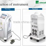 beijing Sincoheren Medical Equipment Laser 2014,Alexandrite Laser Professional and Effective 808nm hair salon furniture used