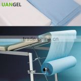 Beauty Salon Use Non-woven Bed Cover Sheet Massage Disposable Bed Sheet