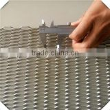 low carbon steel 11.15kg/m2 weight galvanized expanded metal mesh,stretch metal mesh