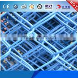 Wholesale Factory Cheap Price Metal Farm Fencing 9 gauge 5foot PVC Coating Used Colored Steel Construction Chain Link Fence