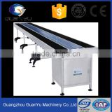 tempered glass chain conveyor table perfume production line