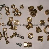 Customized brass machined parts (NPT,BSP,Metric thread)