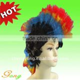 2012 fashion Cosplay Ball Periwig Curl costume Hair Wig