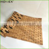Customized design bamboo swimming pool floor mat Homex-BSCI
