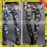 Hot sale custom mens track jogger military cargo pants cheap casual skinny army trousers