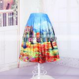 China Supplier New Design Universal Side Fancy Castle Bubble Skirts For Girl