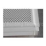 Beveled Angle Acoustic Lay In Suspended Metal Ceiling Tiles Sheet install with T bar