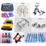 scale rc crawler Screw Tray / Body Clip / REAR SPARE TIRE HOLDER / Body Frame / Ball Joint Connect / Spring