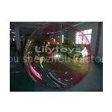 quadruple stitched 1.0mm PVC Inflatable Water Walking Ball With repair kits