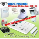 GSM Alarm System with Notify Neighbour, K8