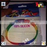 Gay PRIDE Rainbow LGBT Wristband Silicone/hot sexi photo image