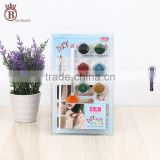 Hot Sale Nail Sticker Stencils Glitter Powder Temporary Tattoo
