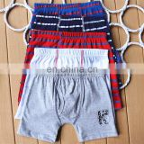 High quality cute cartoon printed cotton baby underwear,boxer shorts boy underwear