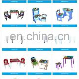 wholesale wooden desk and chair for children