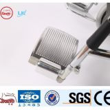 chrome plated steel manual wheelchairs made in China