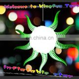 2014 Ceiling event inflatable LED star decor