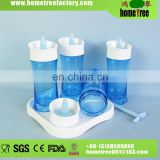 Newest!Modern Design High Quality Airtight Plastic Condiment Containers Set Cruet