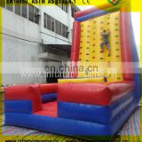 Jumping bouncer climbing games inflatable Climbing Wall